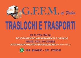 TRASLOCHI E TRASPORTI GFFM